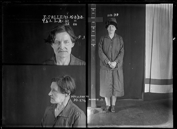 autor desconhecido, Eugenia Falleni alias Harry Crawford, Sydney, Austrália,  1928, collecções do Justice & Police Museum, Sydney.jpg