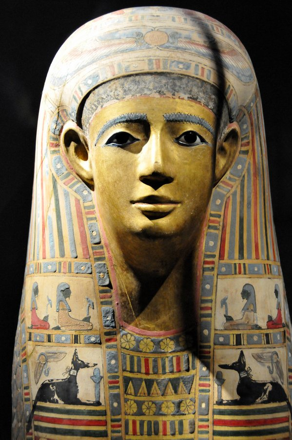 Egyptian Mummy Mask (Egypt early Roman period).jpg