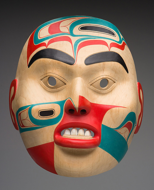 Joe David, Haida Noble Woman with Labret Portrait Mask -.jpg