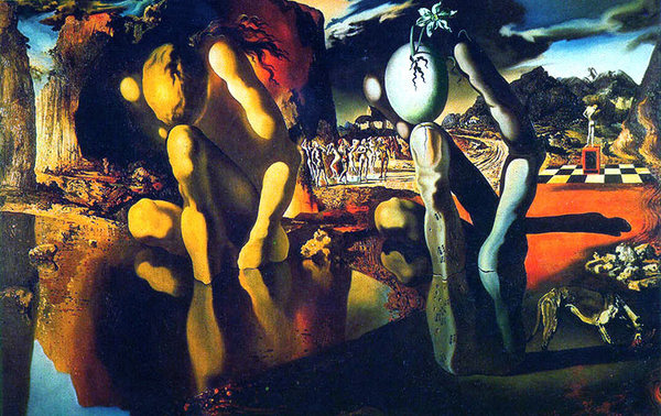 Metamorphosis of Narcissus, 1937.jpg
