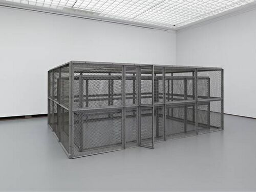 double steel cage