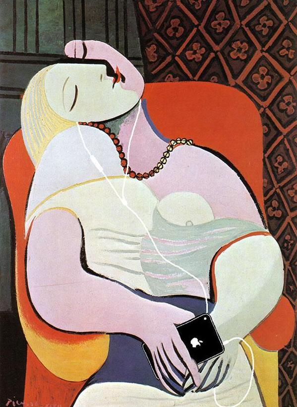 """The Dream"" by Pablo Picasso.jpg"
