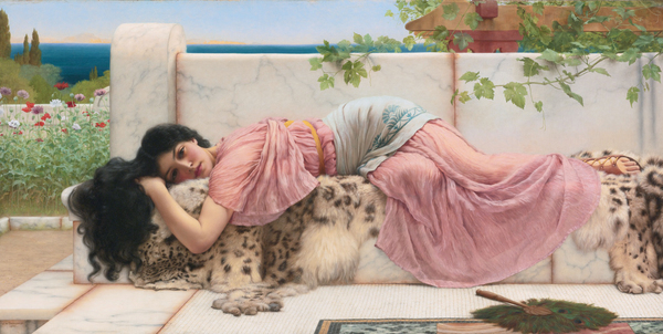 John William Godward When the Heart is Young (1902).jpg