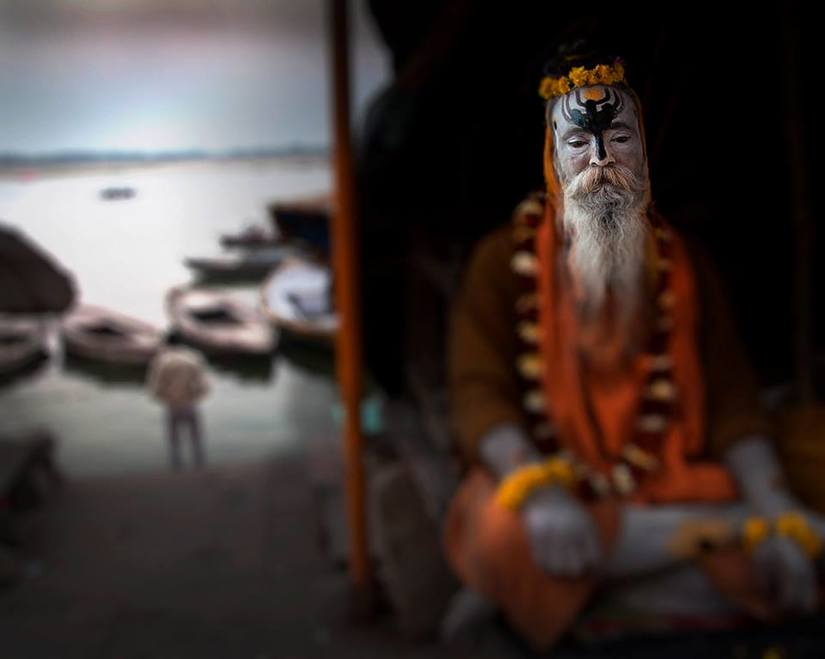 Varanasi India, à beira do Ganges - 2014 por claudio edinger.jpg
