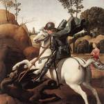 Raphael - Saint George and the Dragon (1504 - 1506)