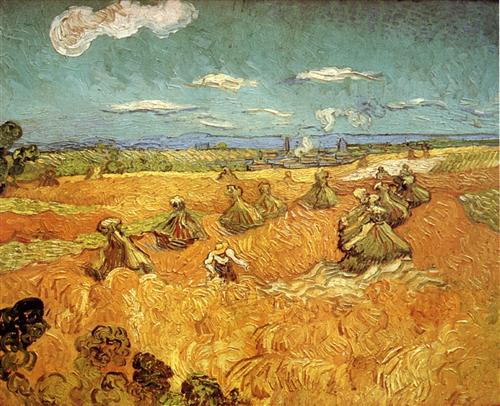 wheat-stacks-with-reaper-1888 van Gogh.jpg