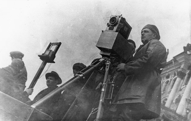 Dziga Vertov The Man With The Camera URSS