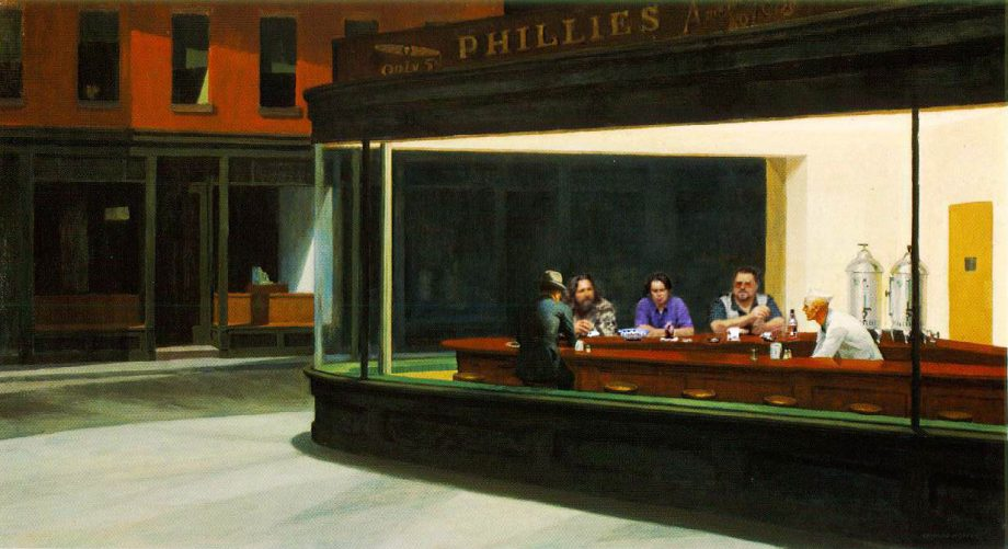 http://lounge.obviousmag.org/isso_compensa/2015/09/25/Nighthawks%20-%20lebowsky.jpg