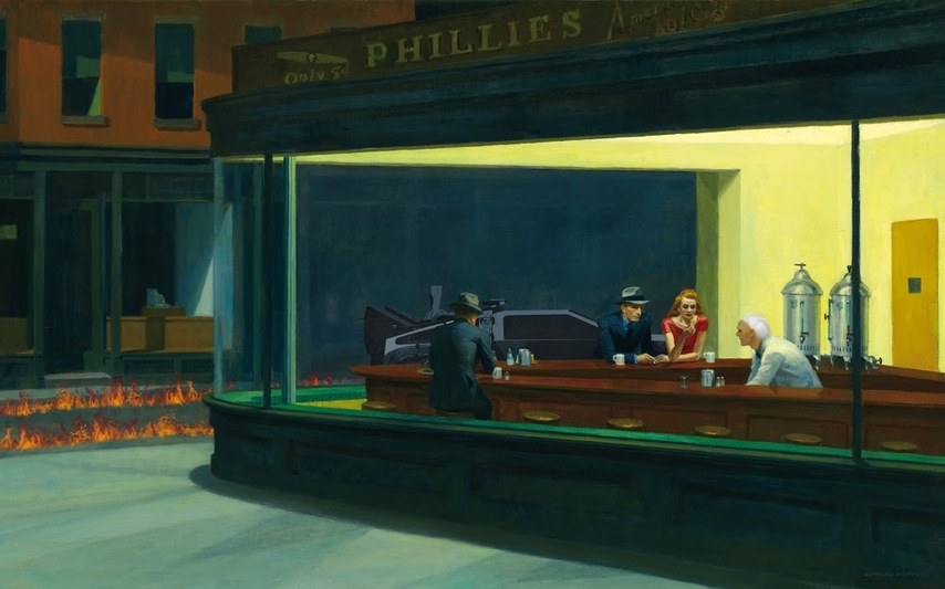 Nighthawks - back to the future.JPG