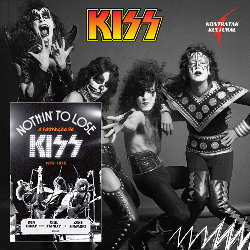 Kiss - Livro Nothin To Lose.png