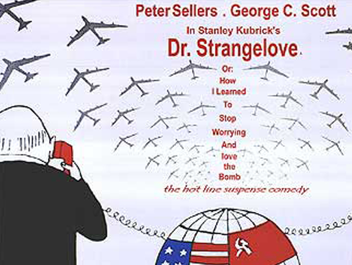 an analysis of the satire on the cold war in stanley kubricks dr strangelove or how i learned to sto