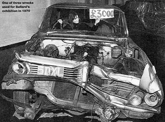 J.G. BALLARD - (1970) Crashed cars.jpg