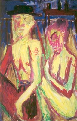 Billy Childish - (2001) Billy and Traci.jpg