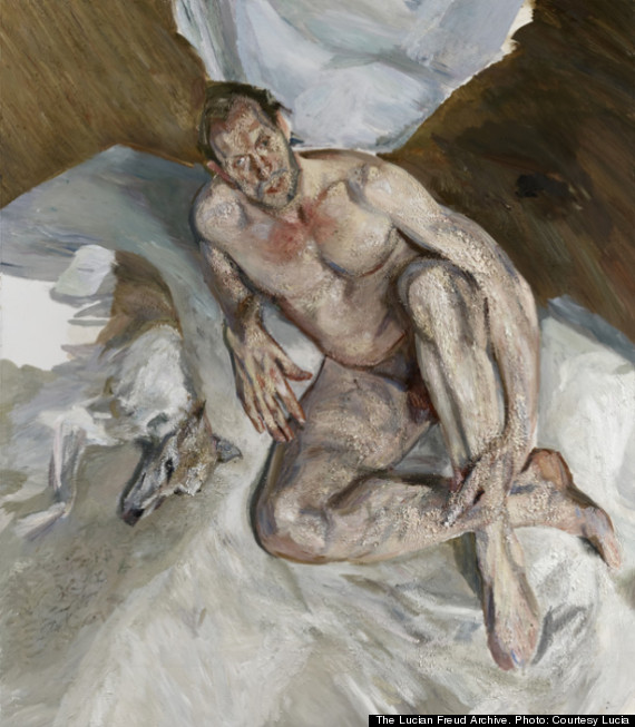 Lucian Freud - (2011) Portrait of the hound.jpg