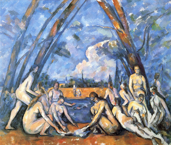 Paul CÉZANNE - (1906) As grandes banhistas.jpg