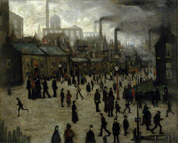 A Manufacturing Town by Laurence Stephen Lowry 1922.jpg