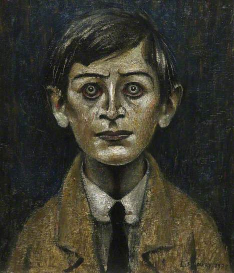Boy in a Yellow Jacket by Laurence Stephen Lowry 1935.jpg