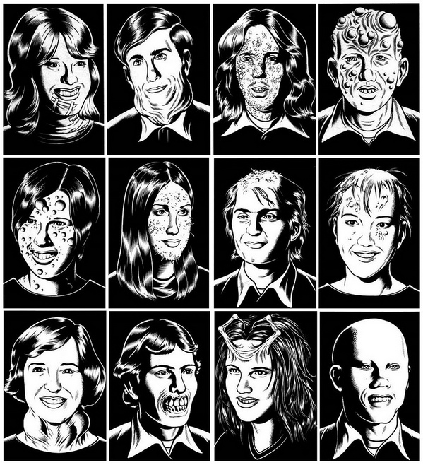 Graphic Novel, Charles Burns, Black Hole, Art, Quadrinhos, .jpg